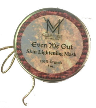 Skin lightening mask