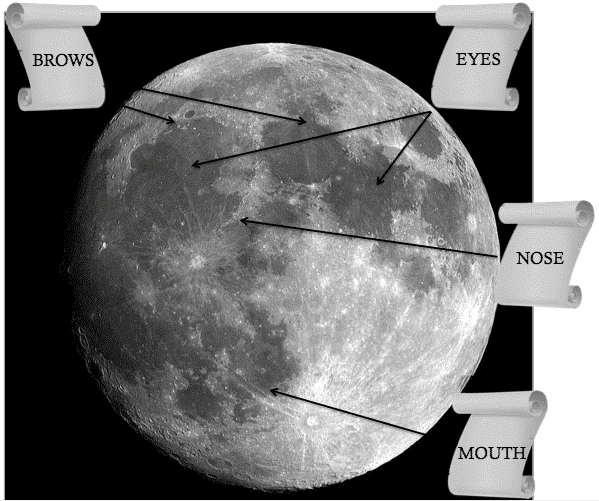 face of the moon 1
